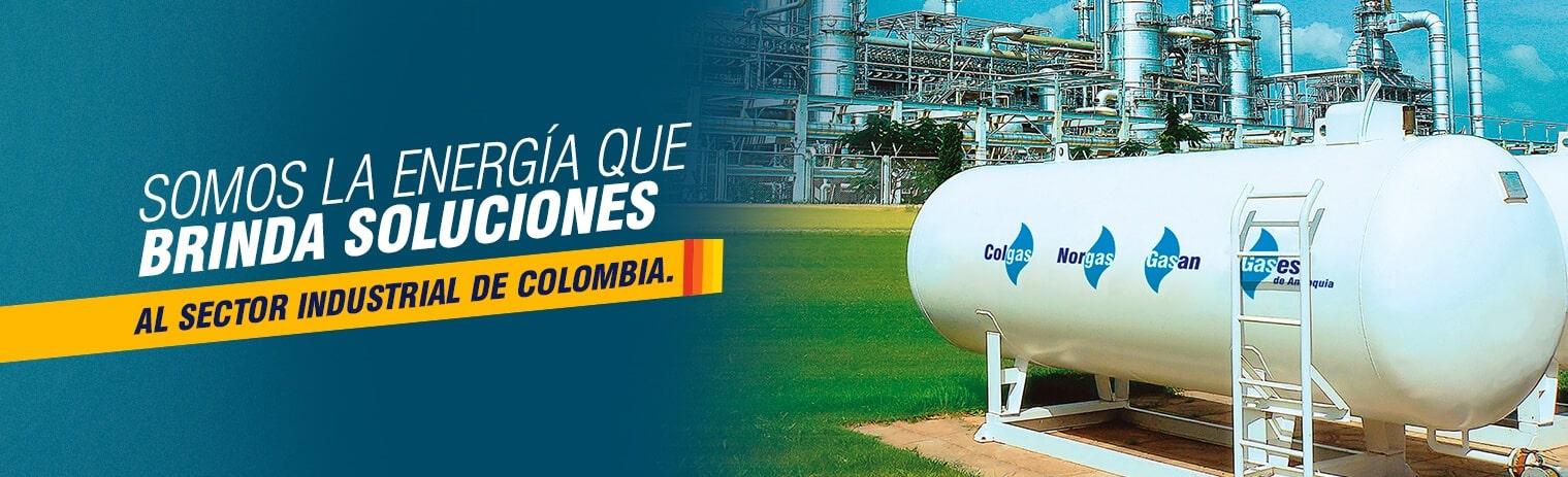 Somos la energía que brinda soluciones al sector industrial colombiano