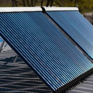 Colector solar de agua